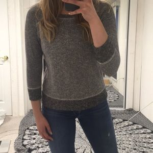 Madewell Hi-Line smokeshadow sweatshirt Grey